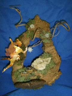 into the faery realm...a wall hanging