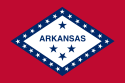 Arkansas (AR) Flag