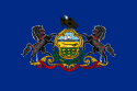 Pennsylvania (PA) Flag
