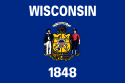 Wisconsin (WI) Flag