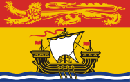 New Brunswick (NB) Flag