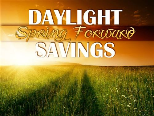 Daylight Savings - Spring Forward