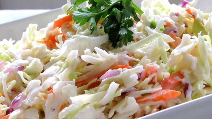 Restaurant-Style Coleslaw - Source: allrecipes.com/LaurenM